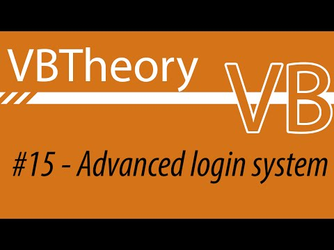 Most Advanced Login System On Youtube - VB #15 (Dwnld in the desc.)