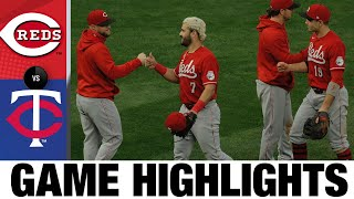 Suárez, Barnhart lift the Reds to a 5-3 win in extras   Reds-Twins Game Highlights 9/27/20