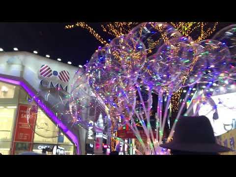 My South Korea Trip Dec 2017: Myeongdong Shopping Street