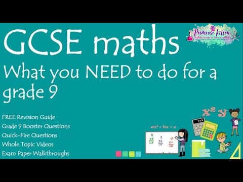What you NEED to do to get a grade 9 in your GCSE 9-1 Maths