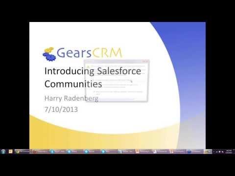 Introducing Salesforce Communities