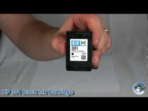 Inside HP 301 Black Ink Cartridge