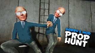 Hand Holding Props & Warmer/Colder Game! (Prop Hunt #407)