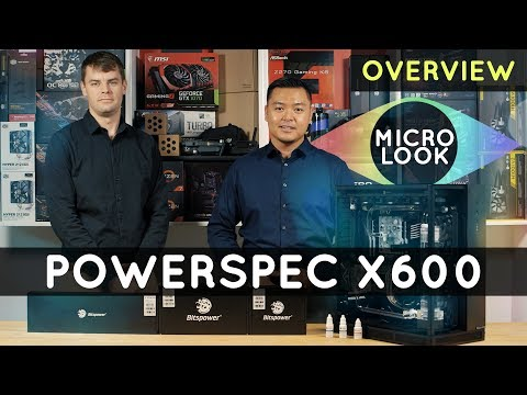 PowerSpec Extreme X600 System Overview