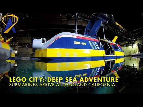 Submarines arrive for new Lego City: Deep Sea Adventure ride at Legoland California Resort