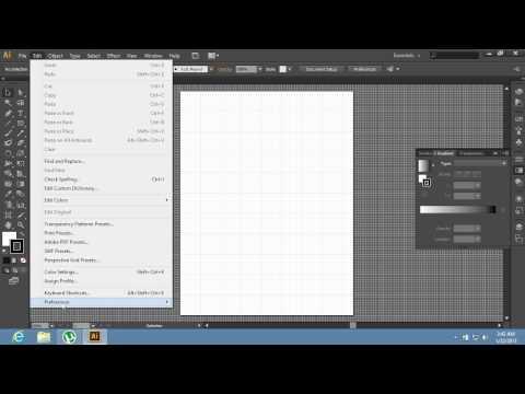 How to Change Grid Size in Adobe Illustrator CS6