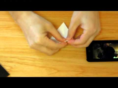 How to make Paper iPhone Stand