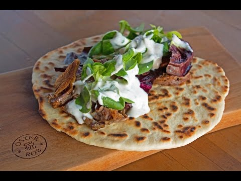 Leg of Lamb on Naan Bread - how to - By Customgrills