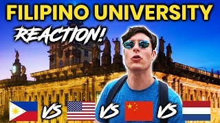 Foreigner Reacts to FILIPINO UNIVERSITY! University of Santo Tomas (UST)!