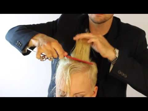 Miley Cyrus and Pink Haircut- Step by Step Easy to learn (Popular short pixie-style haircut)