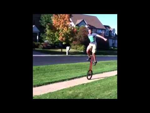 5 foot giraffe Unicycle sports