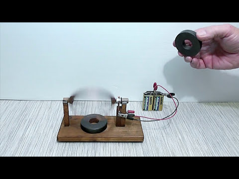 Magnet motor homopolar homemade