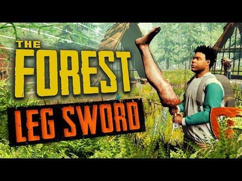 LEG SWORD | The Forest