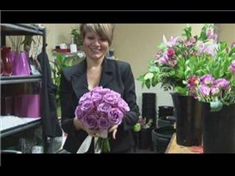 Bridal Bouquet Ideas : How to Make a Single Rose Bouquet