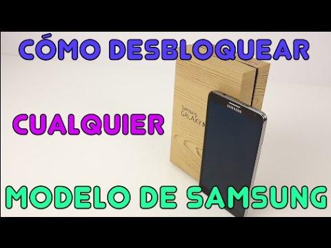 Cómo desbloquear cualquier modelo de Samsung (Cualquier operador o país) AT&T, T-Mobile, Claro, ETC