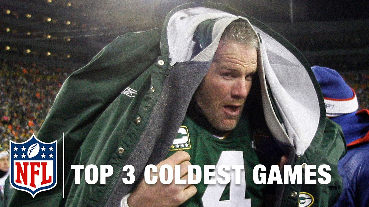 Top 3 Coldest Games in NFL History