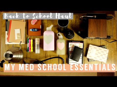 My Med School Essentials | The Stationery, Tools, and Gadgets I Use In Med School