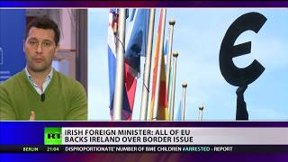 Concerns raised that Irish border issue will hold up Brexit talks (Debate)