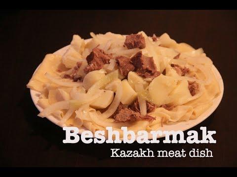 Beshbarmak | Kazakh Meat Dish