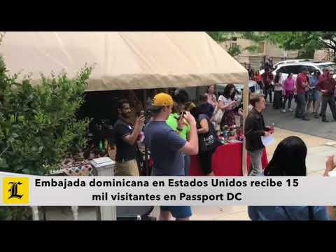 Embajada dominicana en Estados Unidos recibe 15 mil visitantes en Passport DC