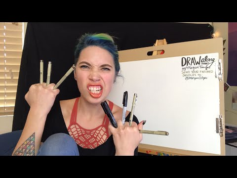 Draw Along With Me! #7 // Snarled Live | Snarled