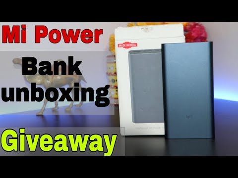 MI Power Bank 2i Unboxing 10000 mah And Giveaway || Technical Raghav