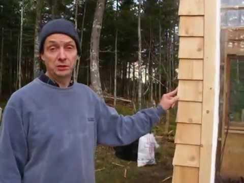 Cedar Shingle Installation Including Corner Weaving