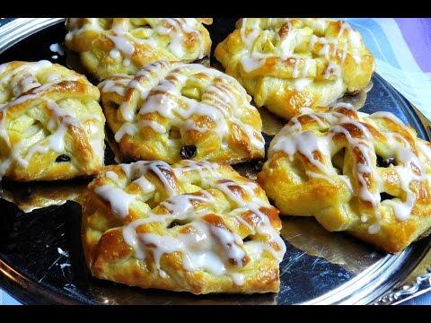 How To Make Apple Raisin Danish Pastry | Baking Recipe
