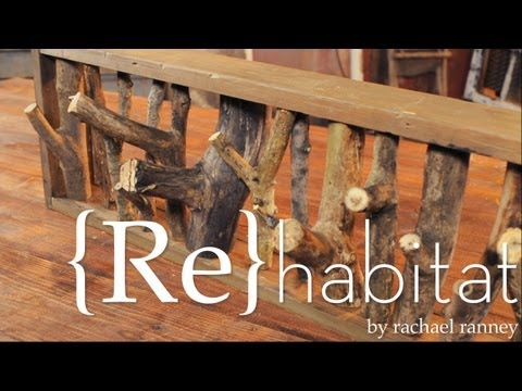 {Re}habitat - Upcycled Coat Racks Trailer