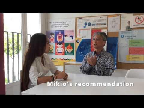 Opinion de nuestro alumno japonés Mikio Takano