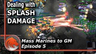 StarCraft 2: MASS Marines vs Colossus?!