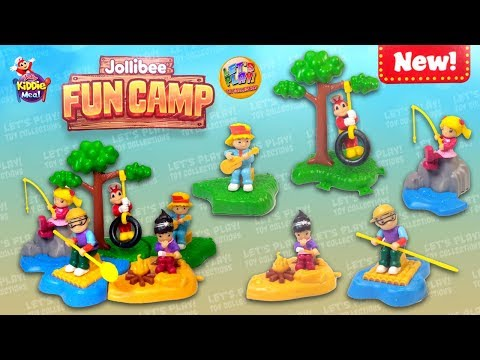 Xxx Mp4 2019 Jollibee Fun Camp Jolly Kiddie Meal Toys Complete Set Of 5 Toys 3gp Sex