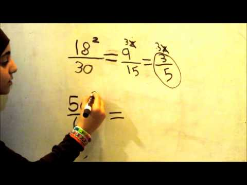 Reducing Fractions - The easy way