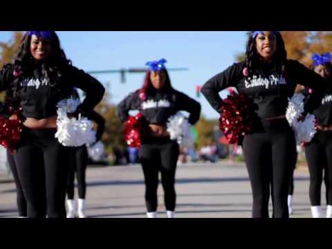 SC State University Cheerleaders Homecoming 2016 vs. Delaware State University