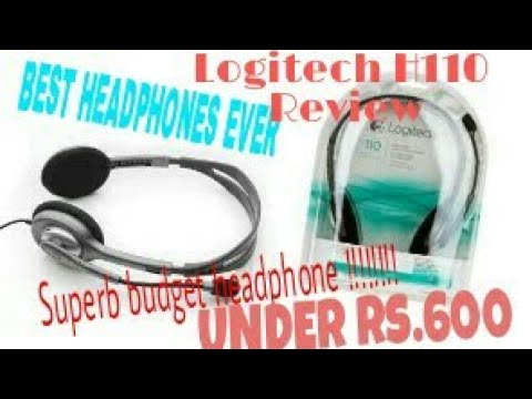 Logitech h110 review -one of the best headphones ever