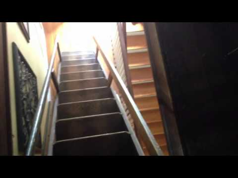 Antique Attic Ladder! Antique Attic Stairs! My retractable attic stairs