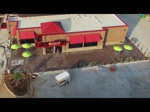 Newest Aerial Views of Sheetz Construction Site at the NC 86 & I-85 Interchange - Hillsborough, NC