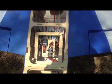 RC gas engine receiver vibration problem solved