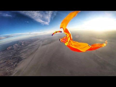 Good Morning Burning Man Skydive | BASE Dreams 3 Bonus