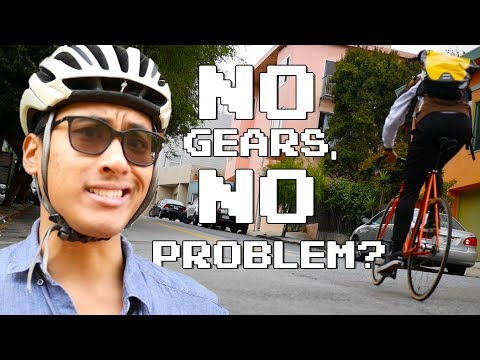 Does Riding a Fixed Gear in San Francisco Suck? | Vlog No. 21
