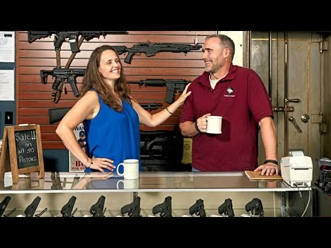 Virginia couple has easier time selling guns than coffee