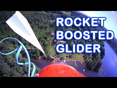 Launching Paper Airplanes with a Water Rocket - Revisited