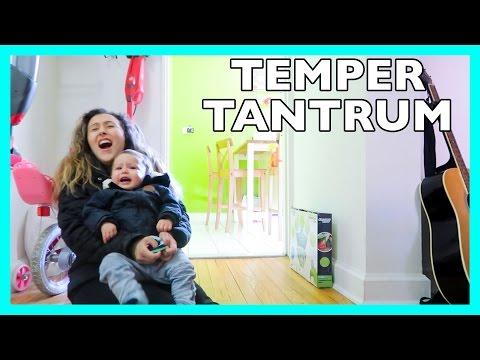BABY HAS A TEMPER TANTRUM!