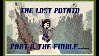 Minecraft Lets Play: The Lost Potato Part 8- Save The Pig!