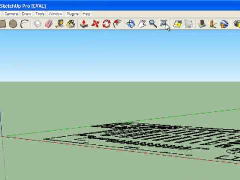 How to Import an Autocad file using Google Sketchup