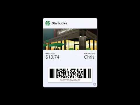 How to Create a Starbucks Passbook Pass
