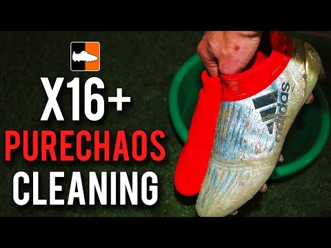 How to clean X 16 Purechaos Football Boots | adidas X16+ Soccer Cleats