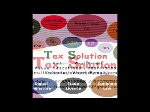 Income Tax  Return E-filing, Refund , Acounts , TDs , Vat & Cst ,  Passport , Service Tax