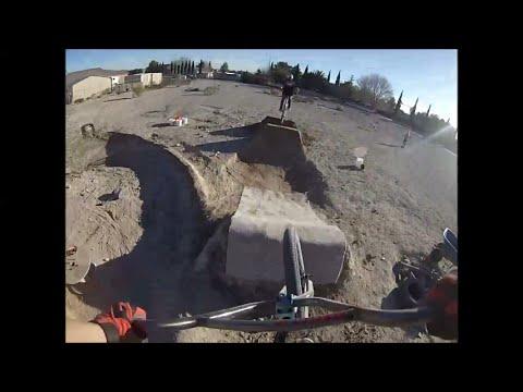 GOPRO Private BMX Dirt Jumps!!!!!!