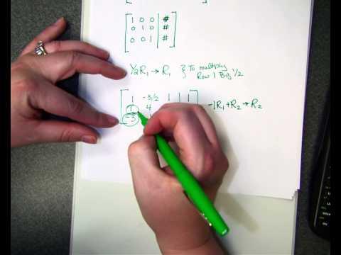 CA 3x4 Matrix with ROWOPS